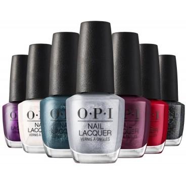Collection Shine Bright OPI Nail Laquer, vernis classiques, en vente sur beautycoiffure.com