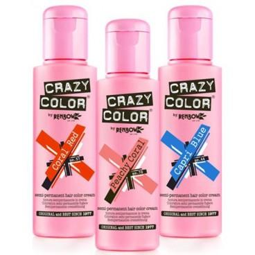 Crazy Color, colorations temporaires, en vente sur Beauty Coiffure
