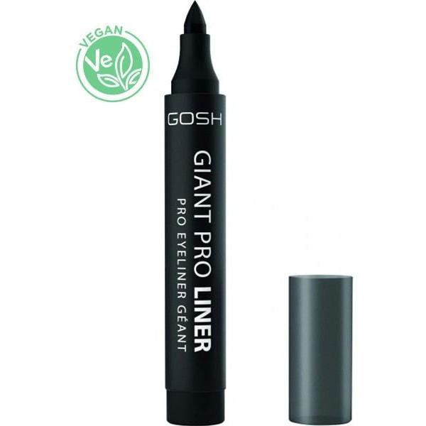 Gosh Copenhagen eyeliner large Noir intense, en vente sur Beauty Coiffure.