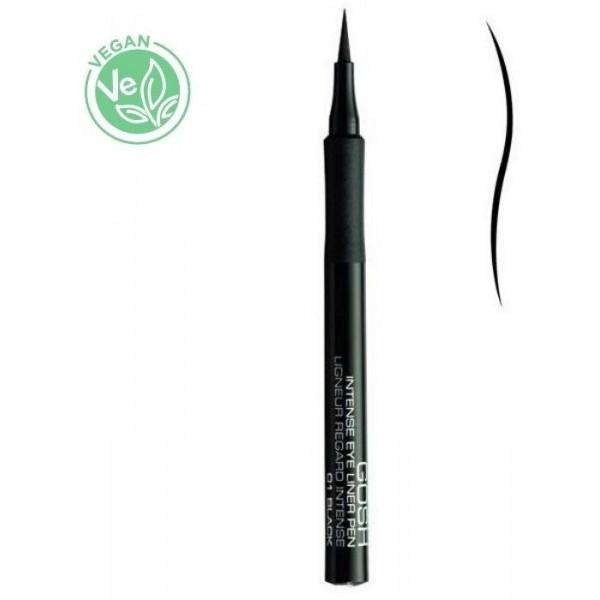 Gosh Copenhagen - eyeliner semi-permanent n°01 Noir, en vente sur beauty Coiffure
