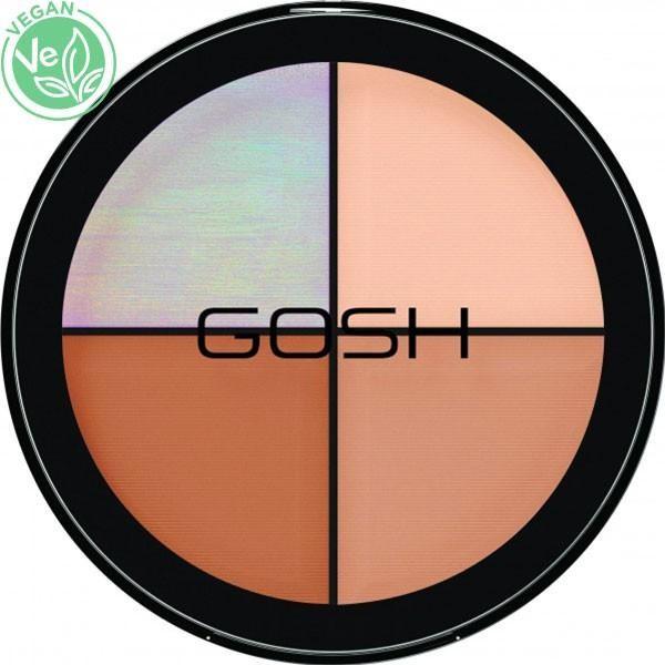 Gosh Copenhagen - Kit contouring, blush, en vente sur Beauty Coiffure.