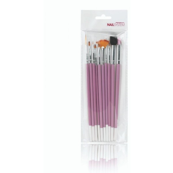 Kit Nail Art pour ongles, couleur rose, en vente sur Beauty Coiffure