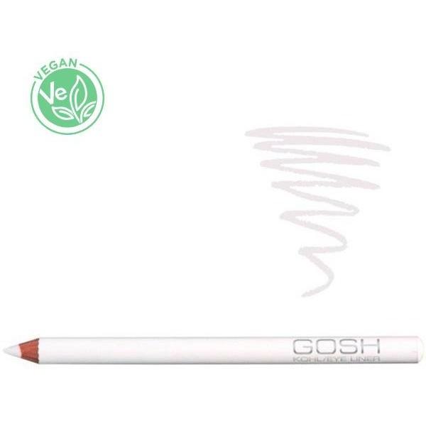 Gosh Copenhagen - Kohl eye-liner blanc, en vente sur Beauty Coiffure.
