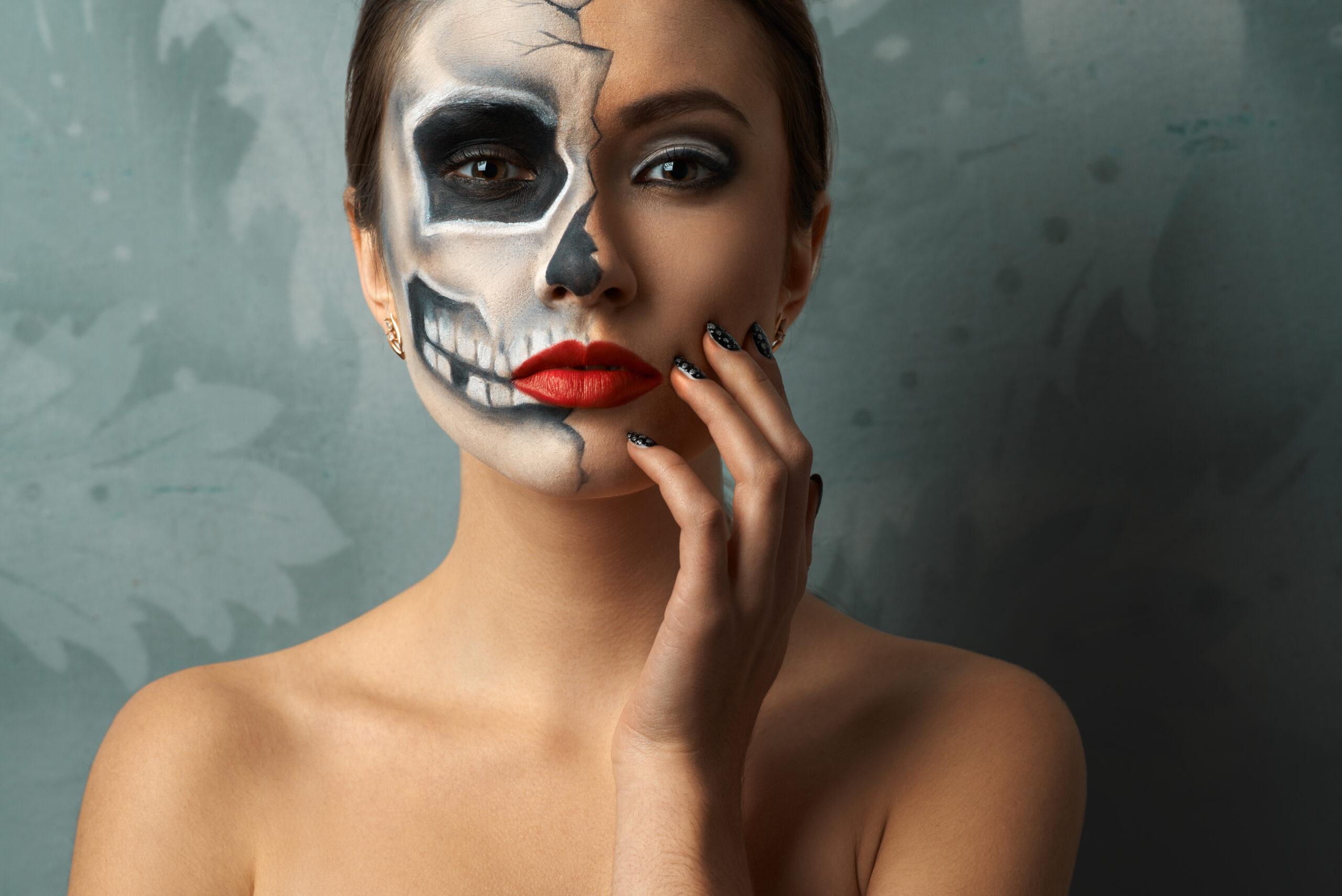 Femme makeup Halloween