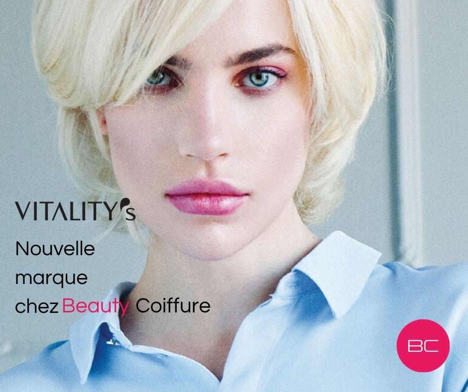 Vitality's : nouvelle marque chez Beauty Coiffure