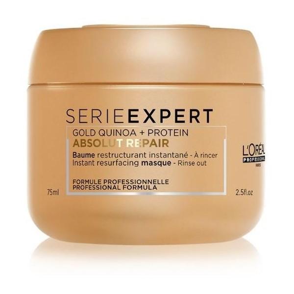 Baume restructurant de la gamme Absolut Repair de L'Oréal Professionnel à retrouver sur beauty coiffure.com