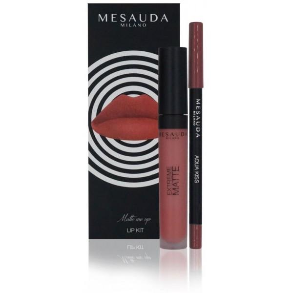 Duo lèvre MATTE ME UP Pavlova Mesauda Milano à retrouvez sur beautycoiffure.com