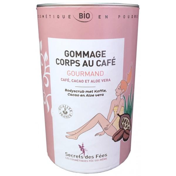 Gommage corps au café Gourmand bio Secrets de Fées sur beauty coiffure.com