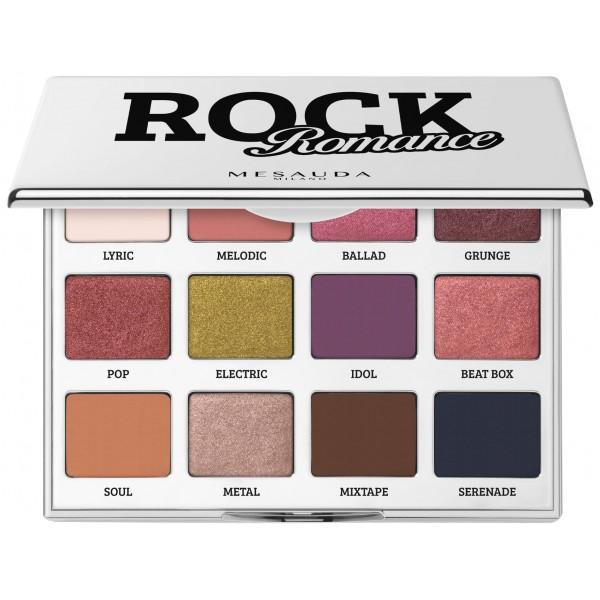 Palette fard à paupières Rock Romance Mesauda Milano. A retrouver sur beautycoiffure.com