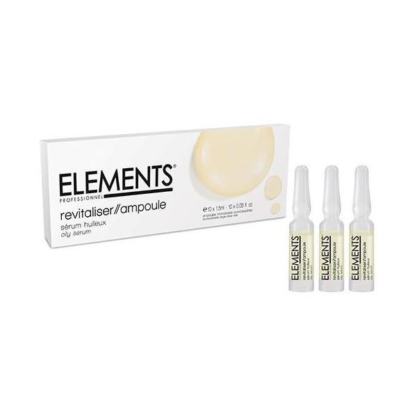 Sérum huileux Elements - 10x1,5 ML. À retrouver sur beautycoiffure.com