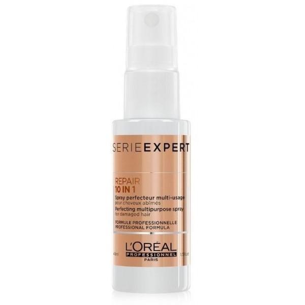 Spray Absolut Repair 10-en-1 de L'Oréal Professionnel à retrouver sur beauty coiffure.com