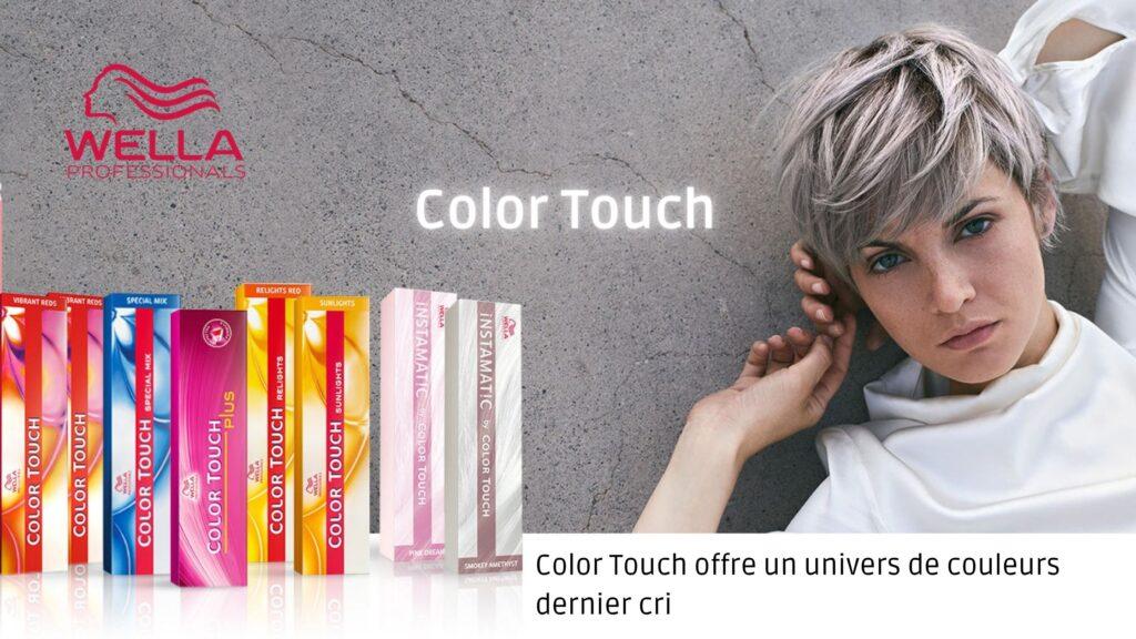 Retrouvez les colorations Color Touch  de Wella sur beautycoiffure.com.