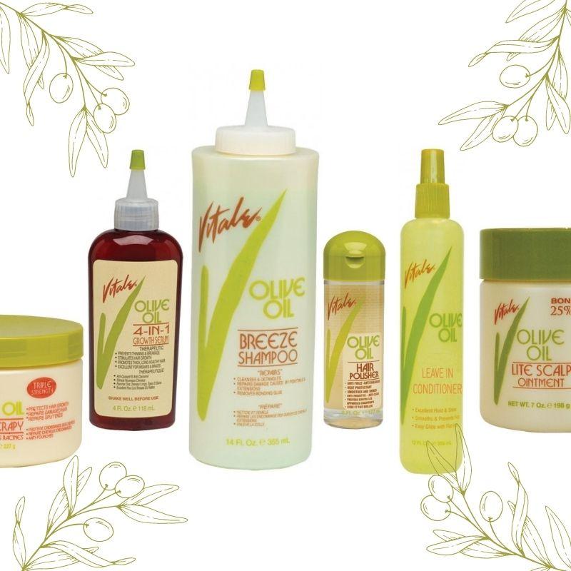 Découvrez toute la gamme de soins capillaire Vitale Olive Oil. A retrouver sur beautycoiffure.com