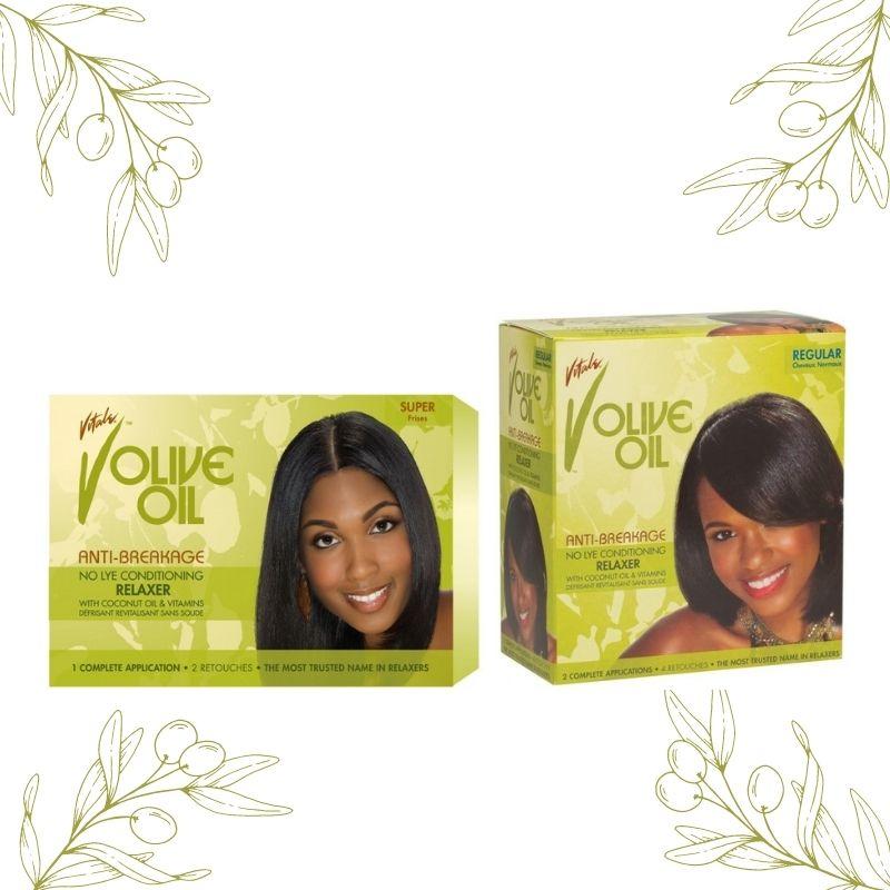 Domptez votre chevelure avec les différents kits de défrisage Vitale Olive Oil. A retrouver sur beautycoiffure.com