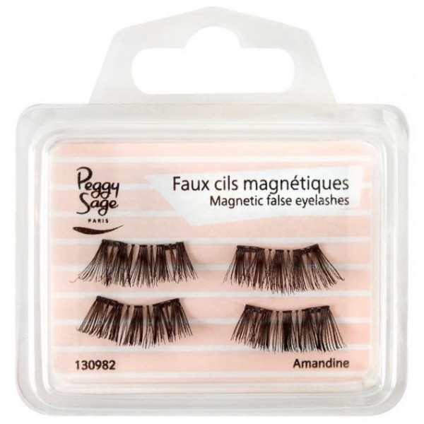 Faux cils magnétiques Amandine de Peggy Sage sur beautycoiffure.com