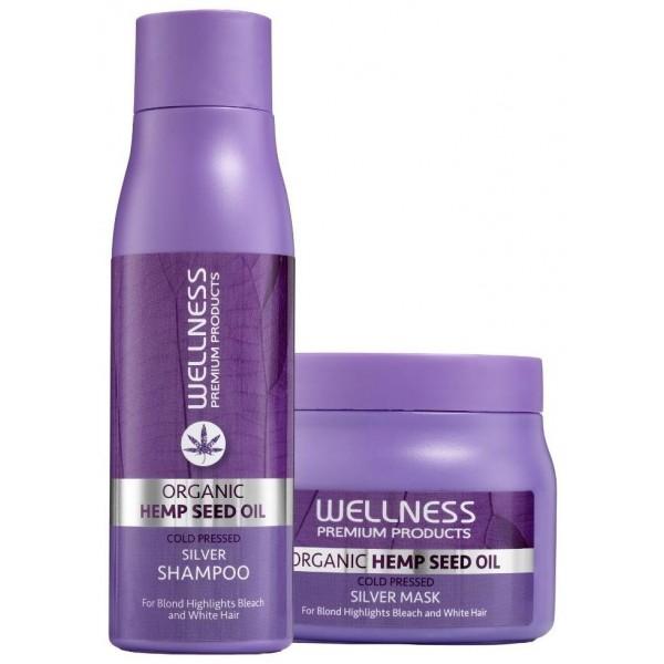 Shampooing & Conditionneur Platinum Wellness Prenium Products. À retrouver sur beautycoiffure.com