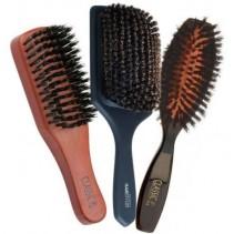 Découvrir toutes les brosses plates en poils de sanglier sur beautycoiffure.com