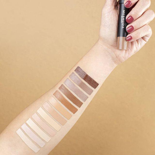 Les nouveautés teint illustration avec toutes les nuances de Mesauda Milano sur Beauty Coiffure.