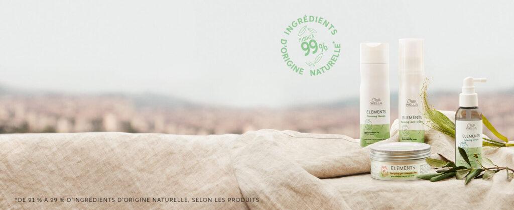 Retrouvez la gamme Elements de Wella Professional sur beautycoiffure.com