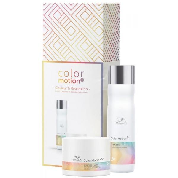Coffret fête des mères ColorMotion de Wella, à retrouver sur beautycoiffure.com.