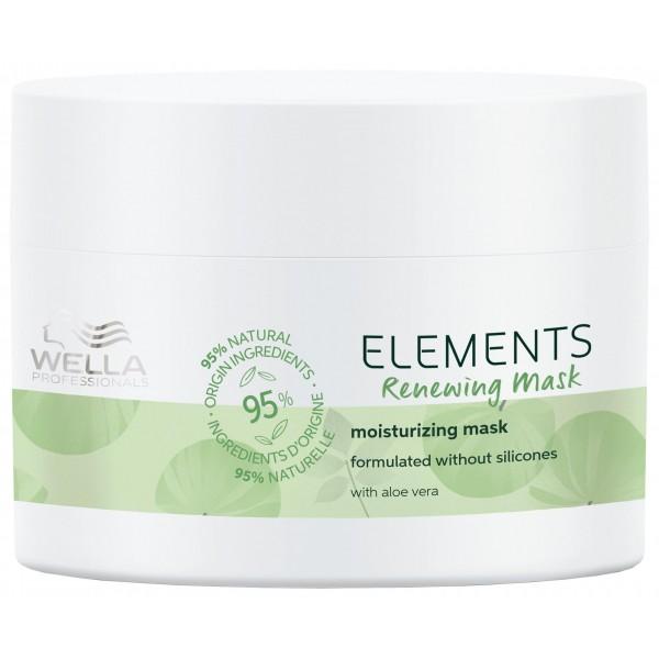Le masque régénérant de la gamme Elements de Wella, à retrouver sur beautycoiffure.com