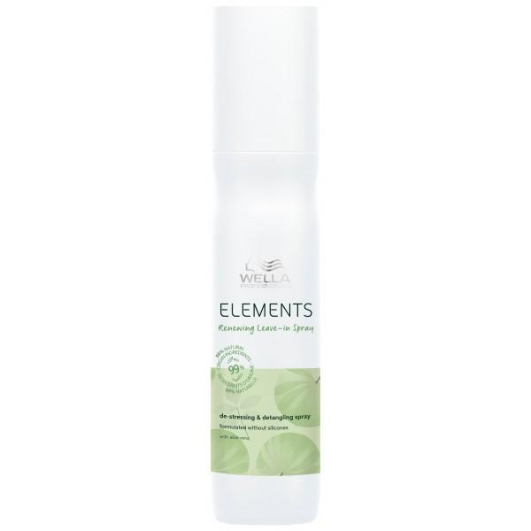 Le spray sans rinçage régénérant de la gamme Elements de Wella, à retrouver sur beautycoiffure.com