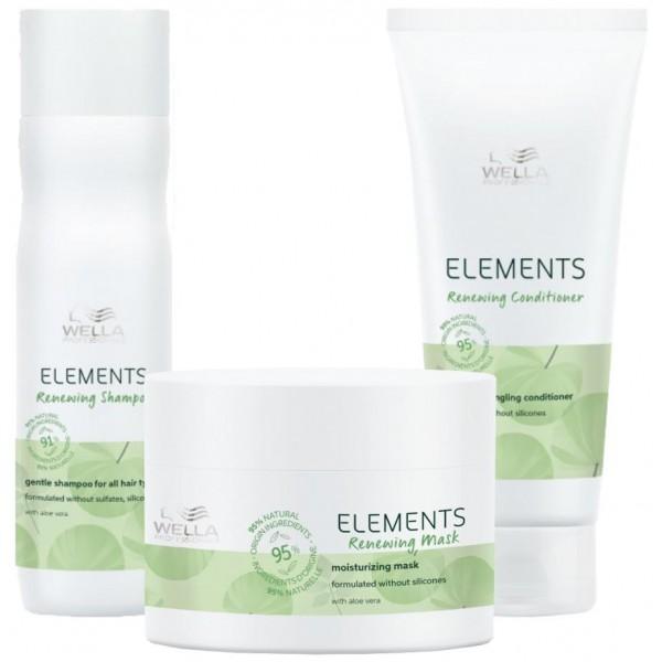 Découvrez le pack soin cheveux Wella Care Elements sur beautycoiffure.com