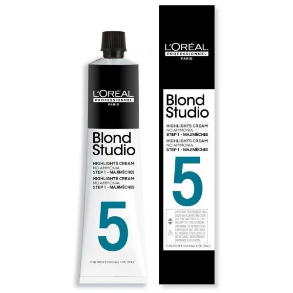 Majimèches 5 tons Blond Studio de L'Oréal Professionnel, à retrouver sur beautycoiffure.com.