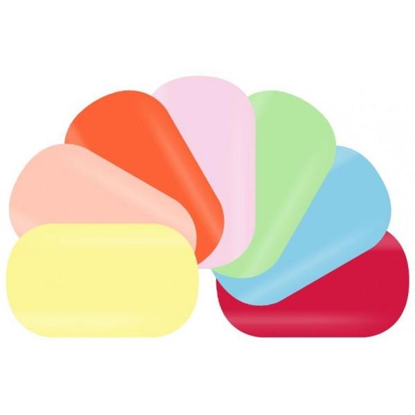 Toutes les nuances des faux-ongles pré-décorés de Beauty Coiffure, à retrouver sur beautycoiffure.com.