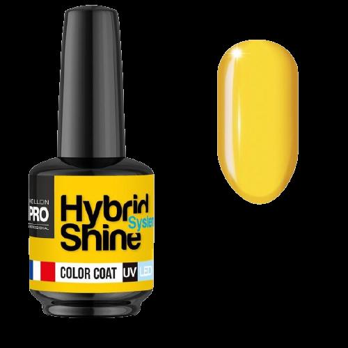 Hybrid Shine de Mollon Pro de la collection Color of the Year couleur jaune illuminating, à retrouver sur beautycoiffure.com.