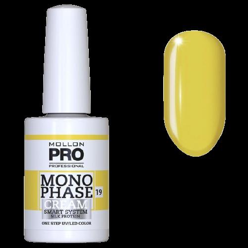 Monophase de Mollon Pro de la collection Color of the Year couleur jaune illuminating, à retrouver sur beautycoiffure.com.