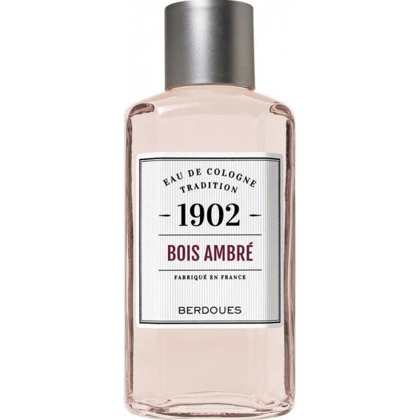 Eau de Cologne 1902 Bois ambré de Berdoues, à retrouver sur beautycoiffure.com.