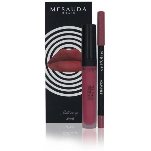Duo crayon et rouge à lèvres matte de Mesauda Milano, à retrouver sur beatycoiffure.com.