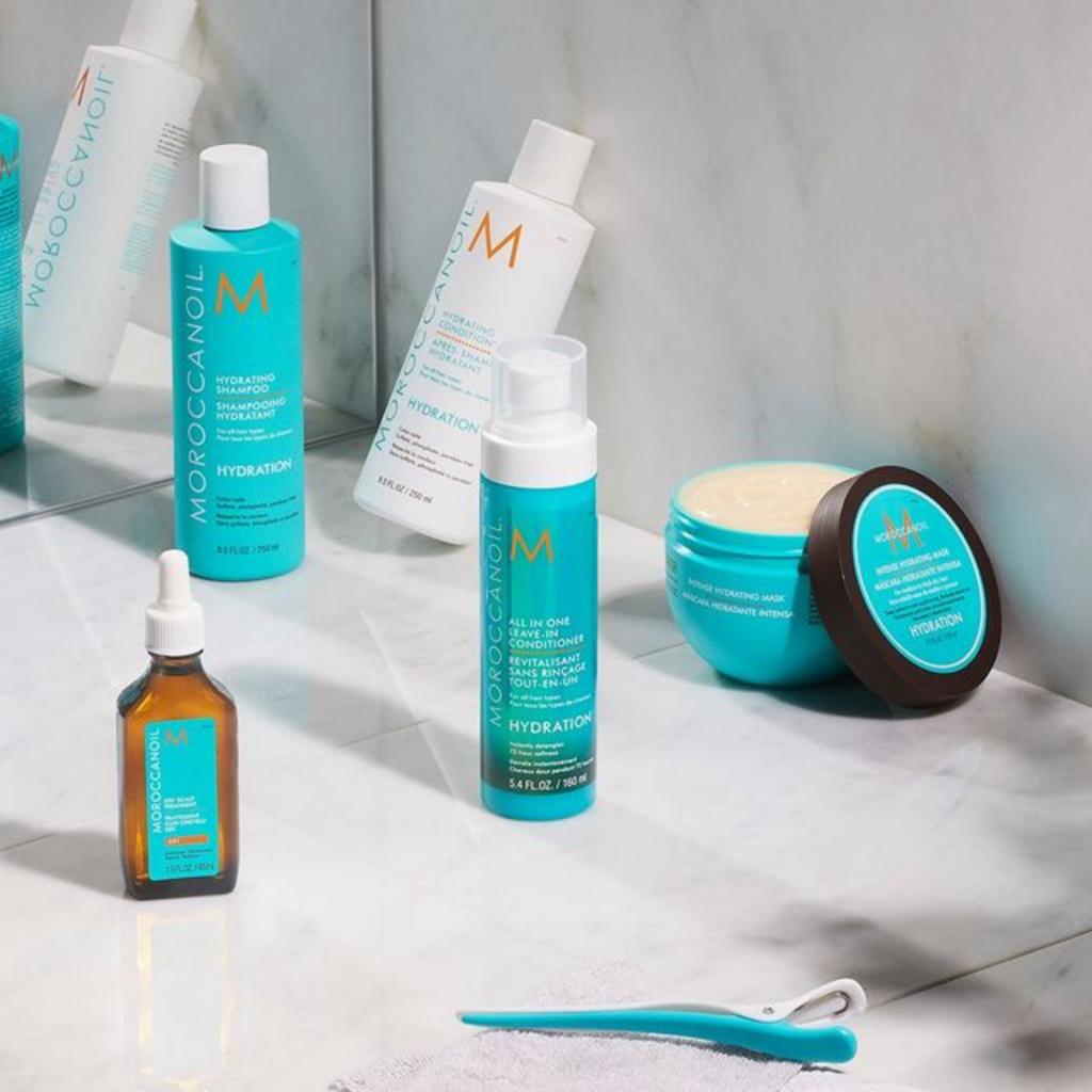 La marque Moroccanoil disponible sur beautycoiffure.com.