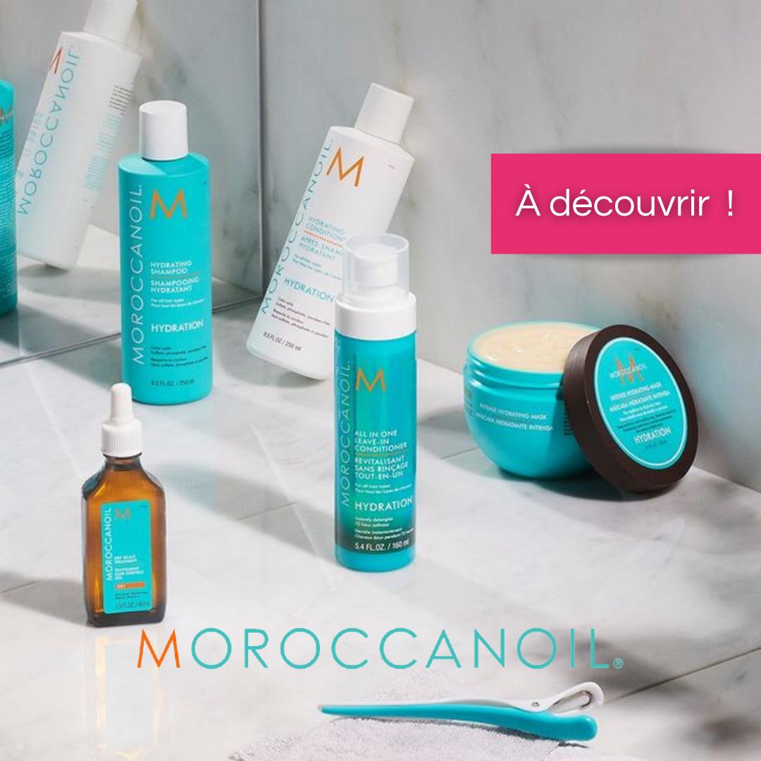 Moroccanoil sur Beauty Coiffure