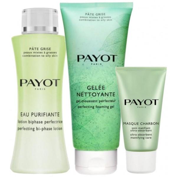 Découvrez la routine nettoyante et purifiante Pâte Grise de Payot, à retrouver sur beautycoiffure.com.